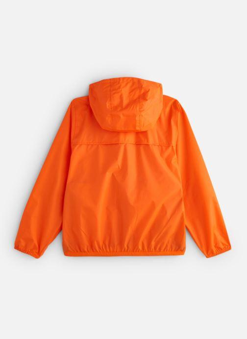 Vêtements K-Way  Le Vrai Claude 3.0 Kids Orange vue bas / vue portée sac