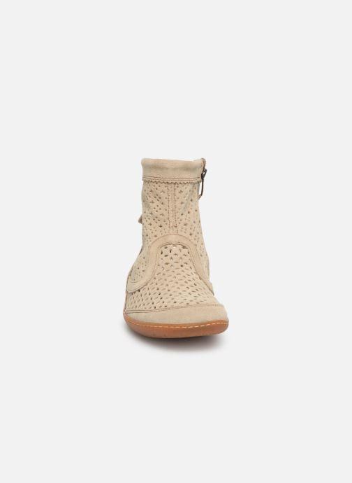 Bottines et boots El Naturalista El Viajero N262 W2 Beige vue portées chaussures