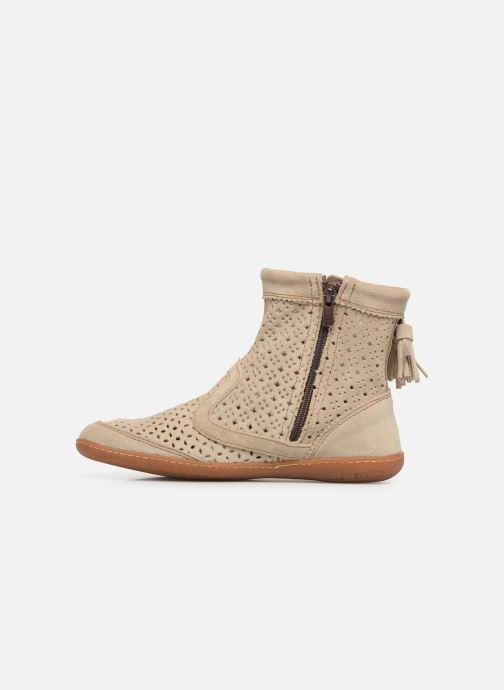 Boots en enkellaarsjes El Naturalista El Viajero N262 W2 Beige voorkant