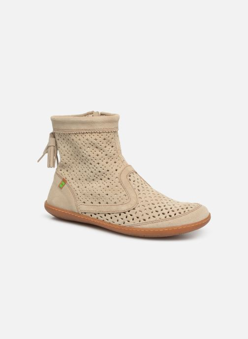Boots en enkellaarsjes El Naturalista El Viajero N262 W2 Beige detail