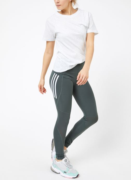 Vêtements adidas performance ASK SPR LT 3S Gris vue bas / vue portée sac