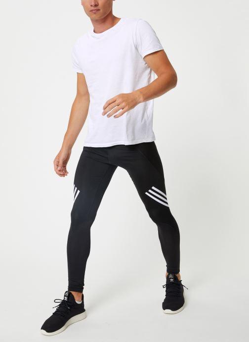 Vêtements adidas performance ASK SPR LT 3S Noir vue bas / vue portée sac