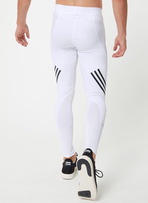 Vêtements adidas performance ASK SPR LT 3S Blanc vue portées chaussures