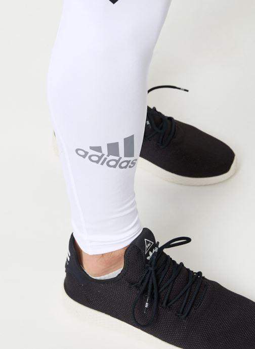 Tøj adidas performance ASK SPR LT 3S Hvid se forfra