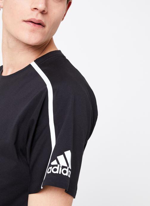 Kleding adidas performance M ZNE Tee Zwart voorkant