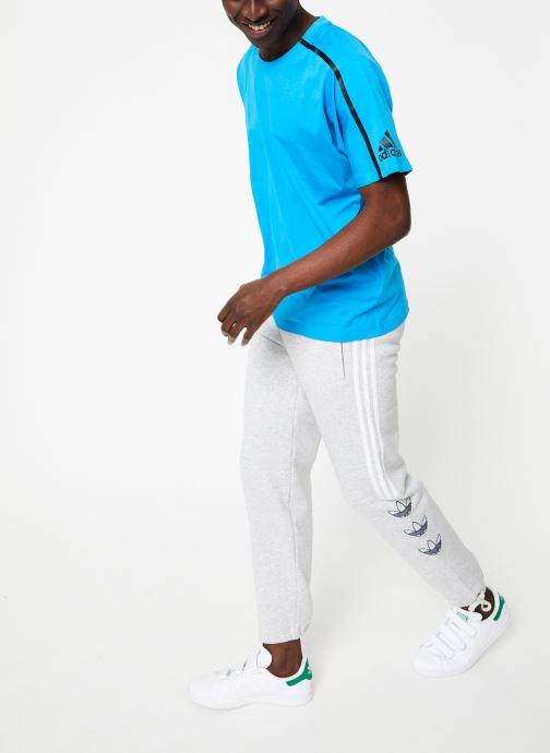 Kleding adidas performance M ZNE Tee Blauw onder