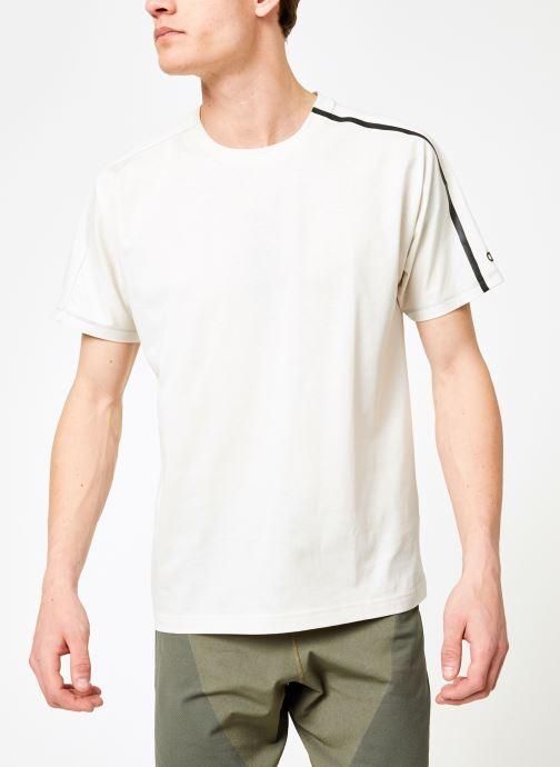Vêtements adidas performance M ZNE Tee Blanc vue droite