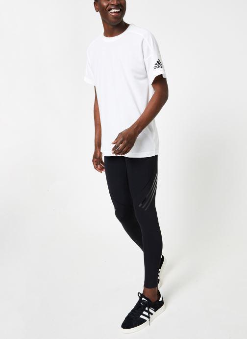 Vêtements adidas performance ASK TEC LT 3S Noir vue bas / vue portée sac