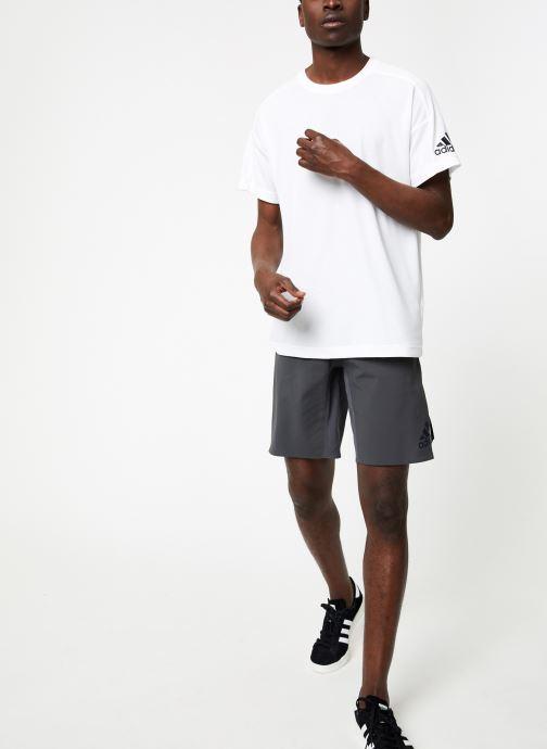 Vêtements adidas performance 4K_360 X SWV 10 Gris vue bas / vue portée sac