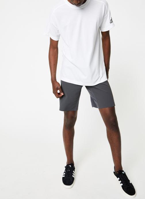 Vêtements adidas performance ID Stadium Tee Blanc vue bas / vue portée sac