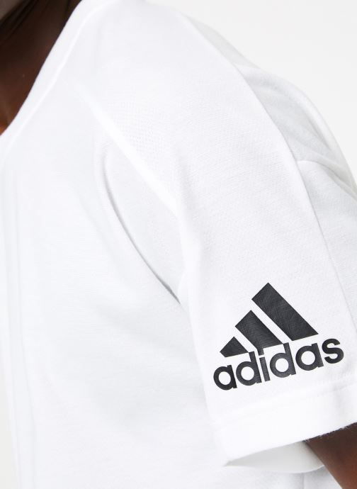 Vêtements adidas performance ID Stadium Tee Blanc vue face