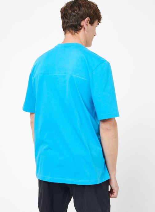 Kleding adidas performance The Pack Tee Blauw model