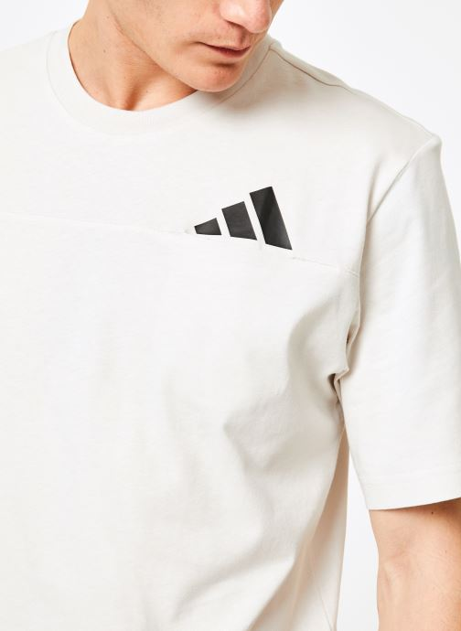 Vêtements adidas performance The Pack Tee Blanc vue face
