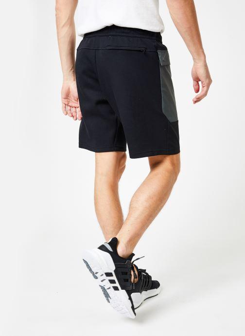 Vêtements adidas performance The Pack Short Noir vue portées chaussures