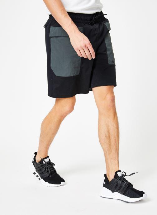 Vêtements adidas performance The Pack Short Noir vue détail/paire