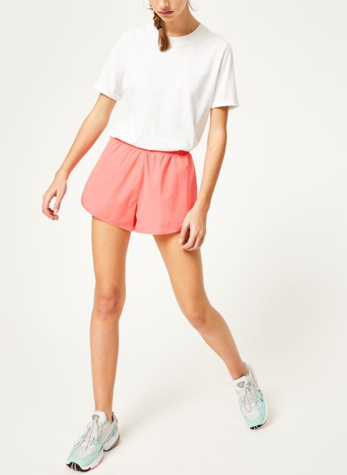 Vêtements adidas performance W Pck Short Rose vue bas / vue portée sac