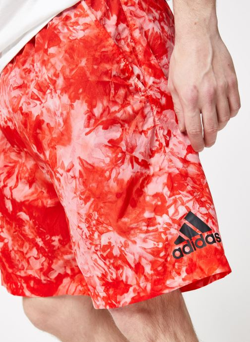 Vêtements adidas performance ID SDYE Short Rouge vue face