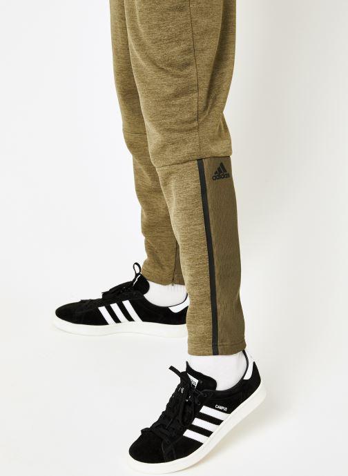 Vêtements adidas performance M ZNE Pt Mesh Vert vue face
