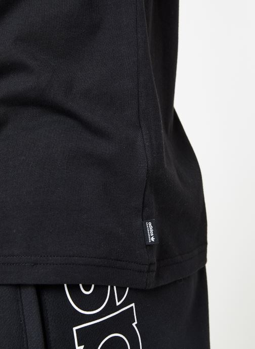Kleding adidas performance Brazee Tee Zwart voorkant