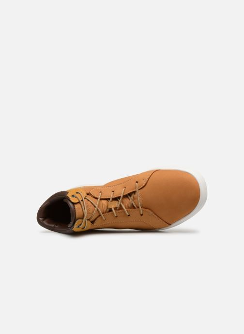 Sneakers Timberland Davis Square Leather Chk M Marrone immagine sinistra