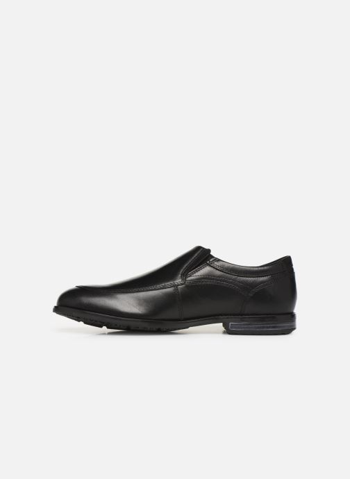 Mocasines Rockport Dustyn Slipon Negro vista de frente