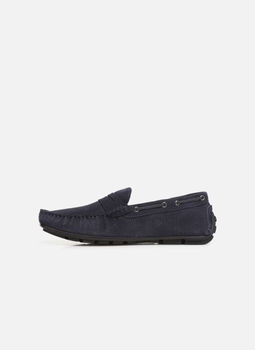Mocassins I Love Shoes THEMOC Leather Blauw voorkant