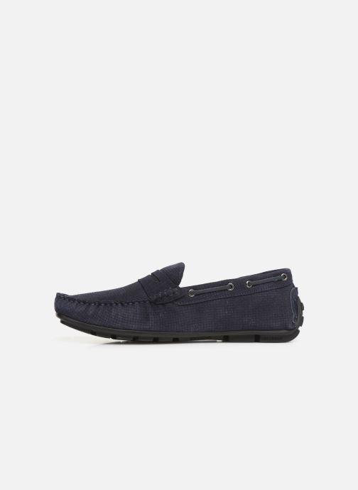 Mocasines I Love Shoes THEMOC Leather Azul vista de frente