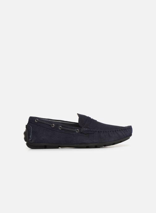 Mocasines I Love Shoes THEMOC Leather Azul vistra trasera