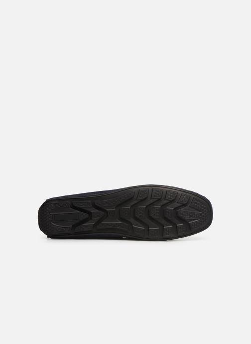 Mocassins I Love Shoes THEMOC Leather Bleu vue haut