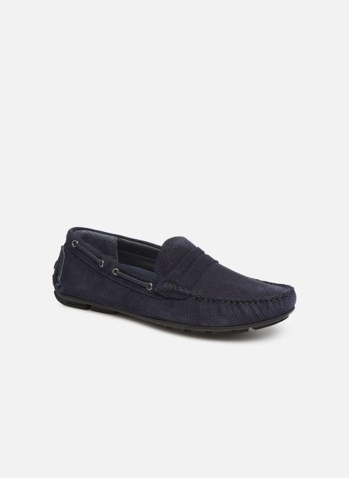 Mocassins I Love Shoes THEMOC Leather Bleu vue détail/paire