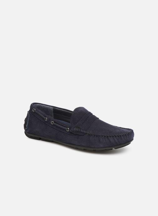 Mocassins I Love Shoes THEMOC Leather Bleu vue détail/paire