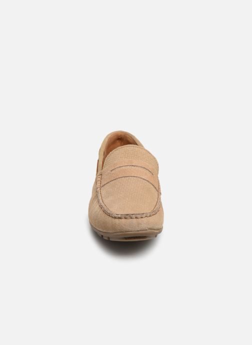 Mocasines I Love Shoes THEMOC Leather Beige vista del modelo