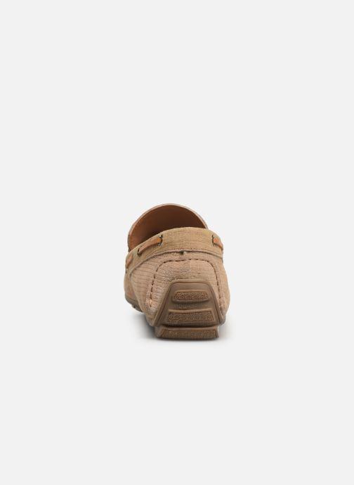 Mocasines I Love Shoes THEMOC Leather Beige vista lateral derecha