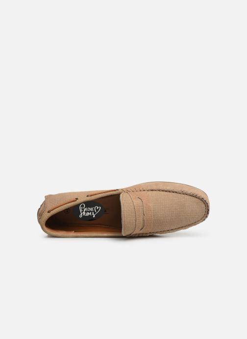 Mocasines I Love Shoes THEMOC Leather Beige vista lateral izquierda