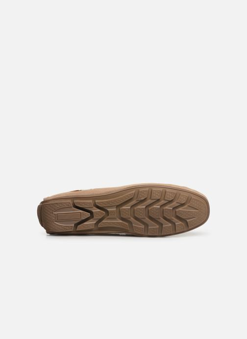 Mocasines I Love Shoes THEMOC Leather Beige vista de arriba