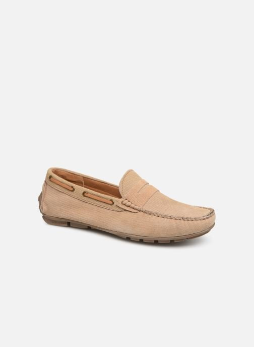 Loafers I Love Shoes THEMOC Leather Beige detailed view/ Pair view