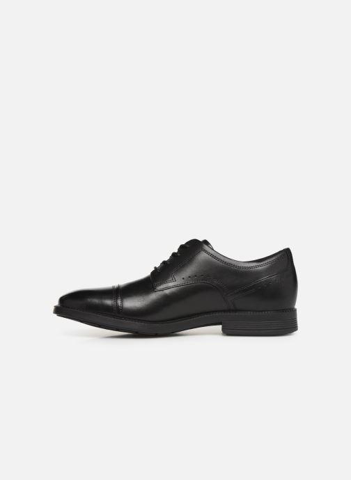 Chaussures à lacets Rockport DM Modern Cap Toe C Noir vue face