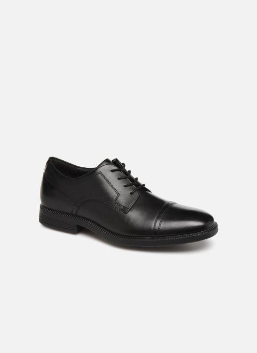 Chaussures à lacets Rockport DM Modern Cap Toe C Noir vue détail/paire