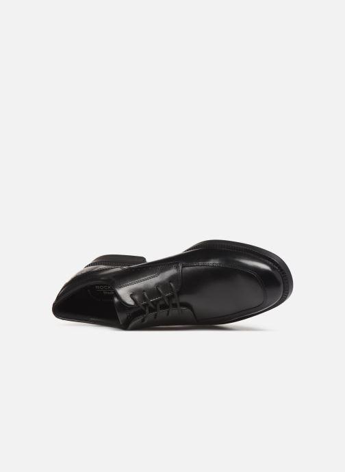 Chaussures à lacets Rockport DP Modern Apron Toe C Noir vue gauche