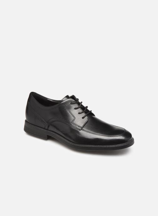 Chaussures à lacets Rockport DP Modern Apron Toe C Noir vue détail/paire