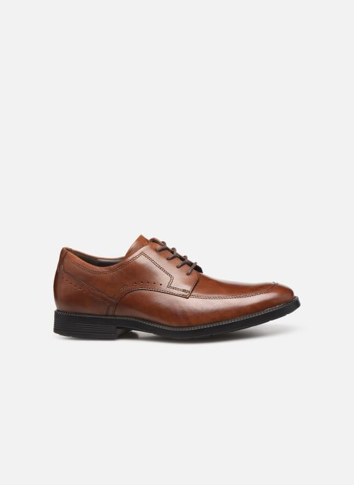 Lace-up shoes Rockport DP Modern Apron Toe C Brown back view