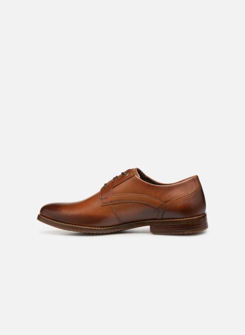 Lace-up shoes Rockport Sp3 Plain Toe C Brown front view