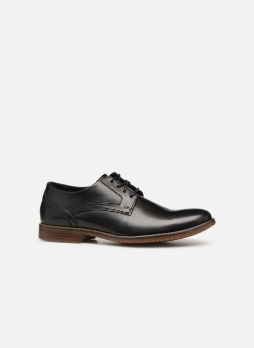 Lace-up shoes Rockport Sp3 Plain Toe Black back view