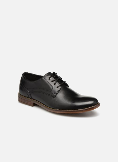 Lace-up shoes Rockport Sp3 Plain Toe Black detailed view/ Pair view