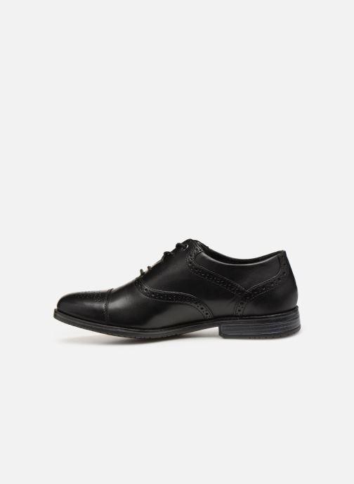 Chaussures à lacets Rockport Sp3 Cap Toe C Noir vue face