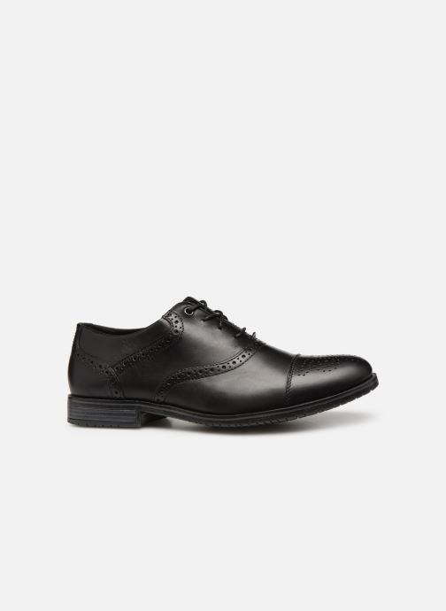 Chaussures à lacets Rockport Sp3 Cap Toe C Noir vue derrière