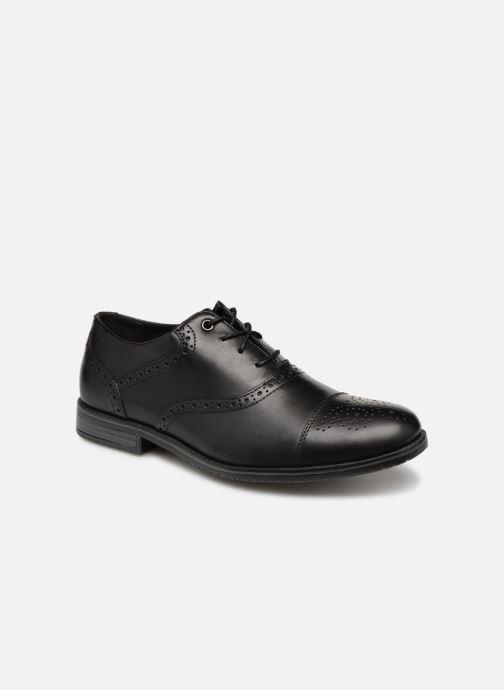 Lace-up shoes Rockport Sp3 Cap Toe Black detailed view/ Pair view