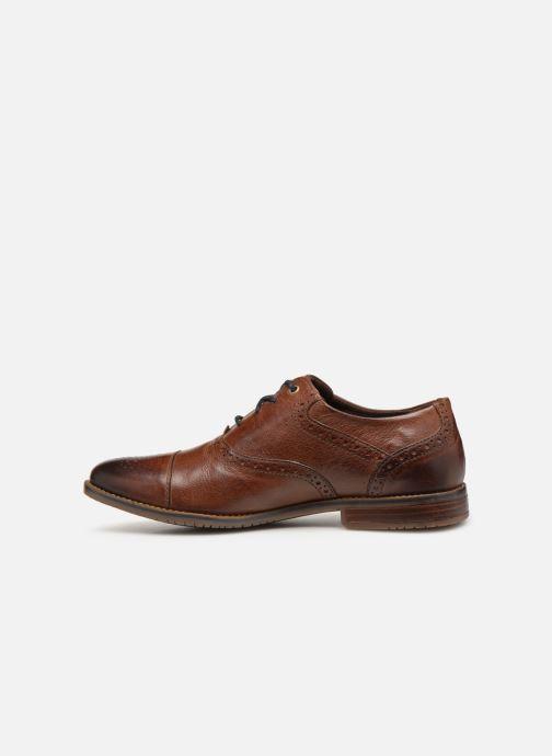 Zapatos con cordones Rockport Sp3 Cap Toe C Marrón vista de frente