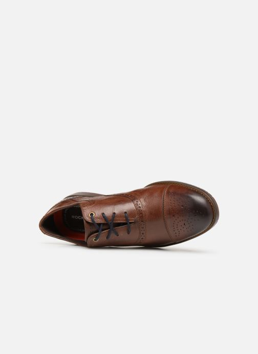 Lace-up shoes Rockport Sp3 Cap Toe C Brown view from the left