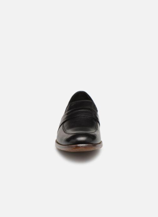 Mocassini Rockport Sp3 Dble Gore Penny C Nero modello indossato